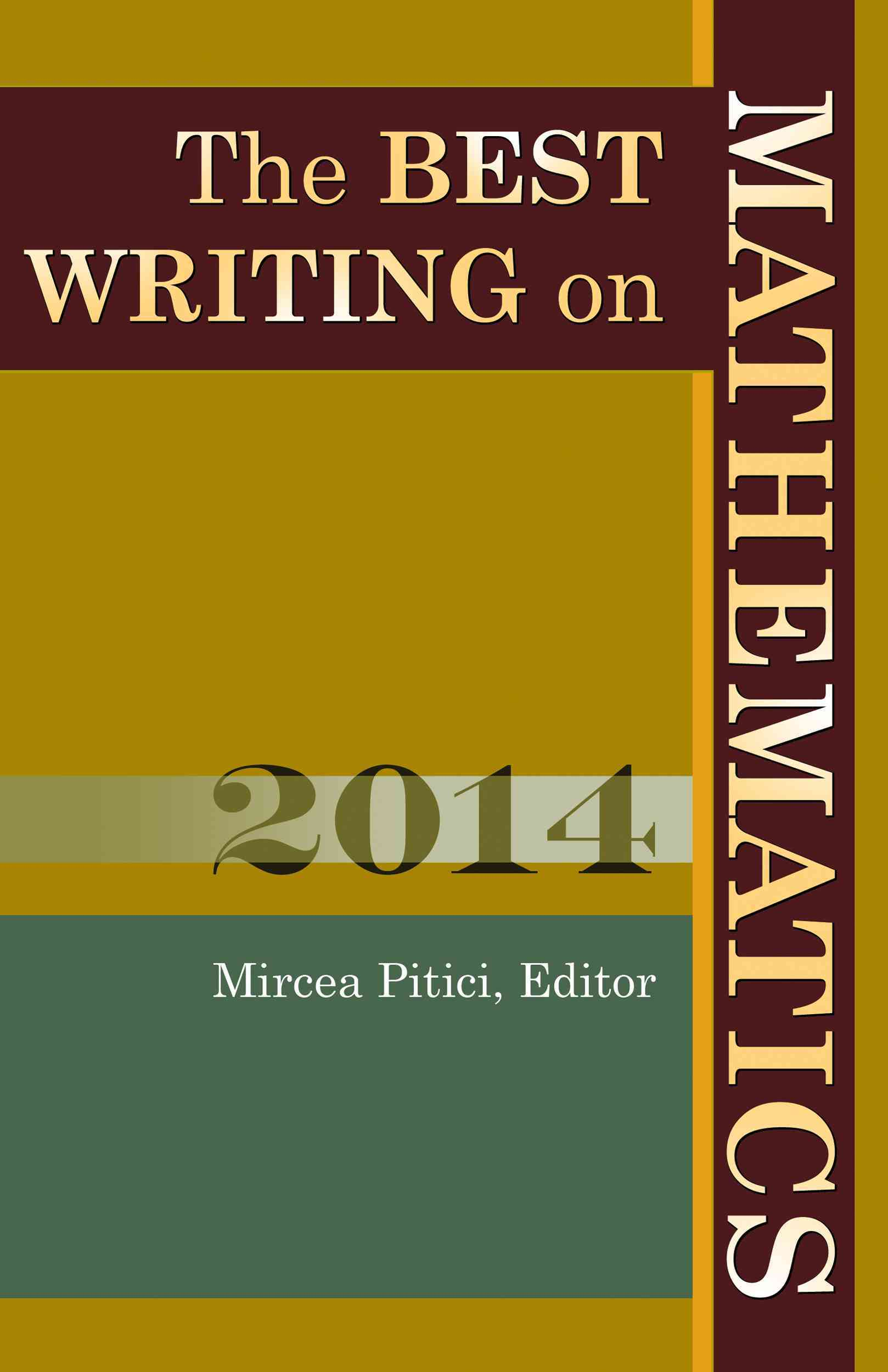 The Best Writing on Mathematics 2014 By Pitici, Mircea